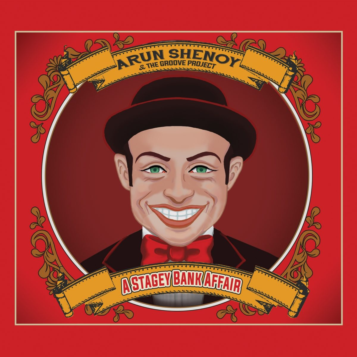 A - A Stagey Bank Affair Album Cover Art