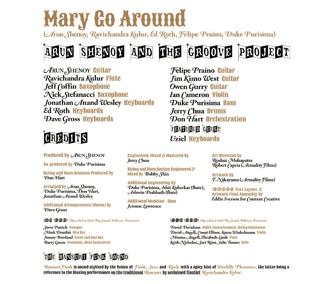 Mary Go Around Credits