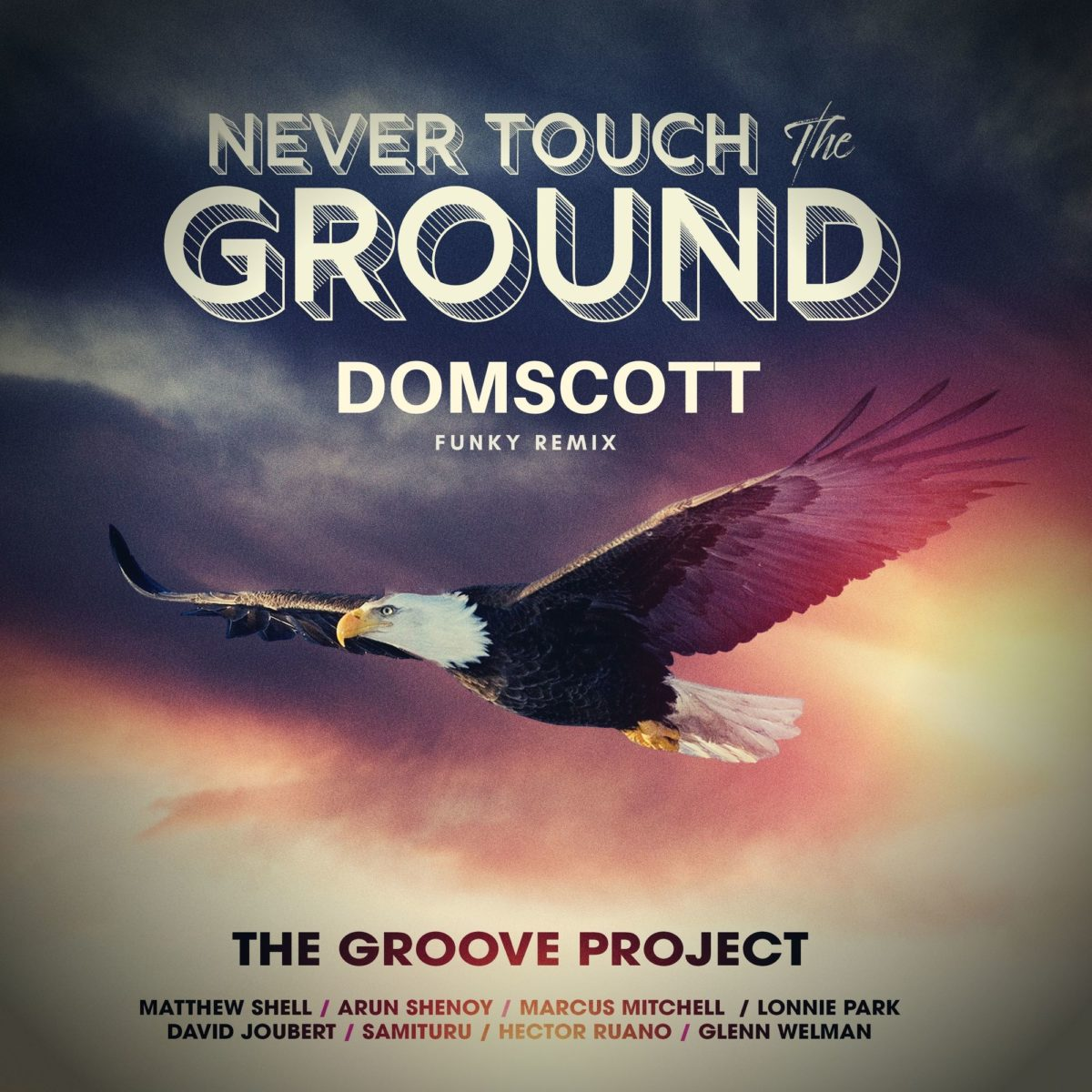 Never Touch the Ground - Front Cover Art Domscott 2000px