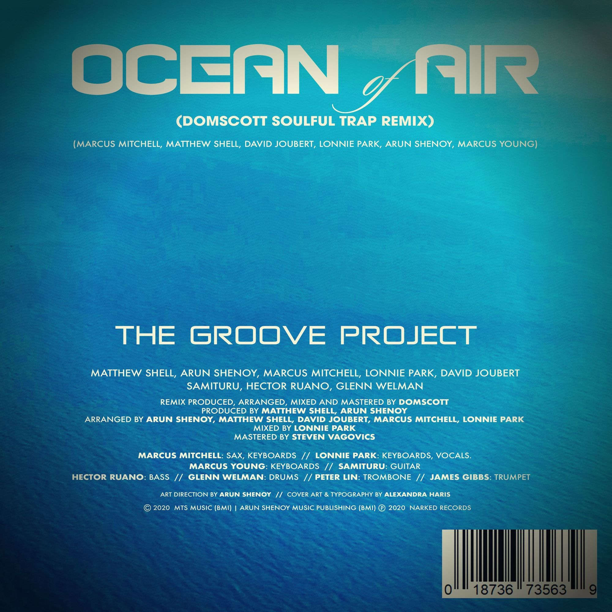 Ocean of Air - Credits Sheet Domscott Remix