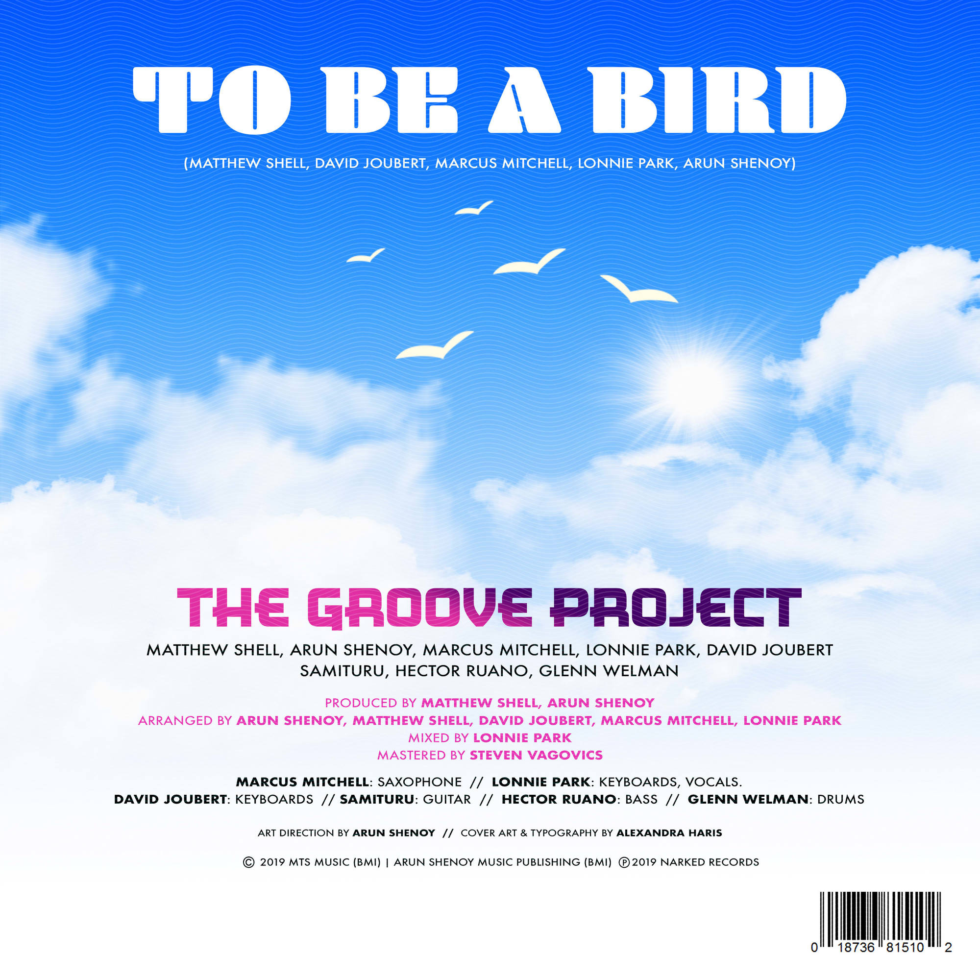 To Be a Bird - Credits Sheet